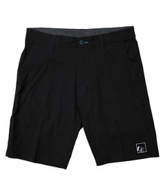 Throttle Hybrid Boardshorts Black