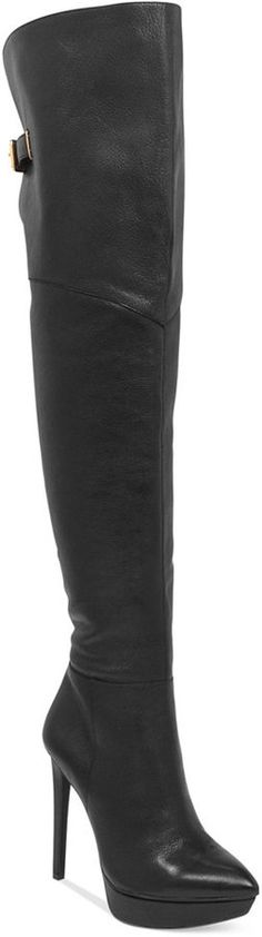 Jessica Simpson Valentia Over-the-Knee Thigh High Platform Boots on shopstyle.com