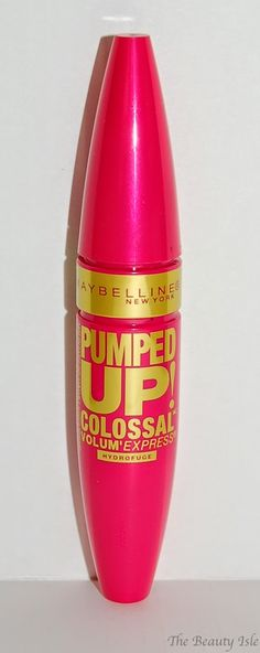 The Beauty Isle: Frugal Friday - Maybelline Volum' Express Pumped Up Colossal Mascara