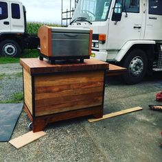 Rustic Rimu Coffee Cart + Faema Espresso Machine in Business, Restaurants, Coffee, Tea Equipment | eBay
