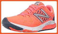 New Balance Women's Vazee Rush  Shell Pink/Black 6 B - Medium - Athletic shoes for women (*Amazon Partner-Link)