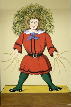 Remember him?  Der Struwwelpeter (1845) a popular German children's book by Heinrich Hoffmann.