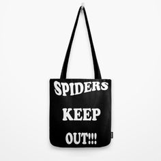 I love Lins humor in her work. However, anyone that knows me knows that I need this! #spiders #totebags #uniquegifts via @lin_dies