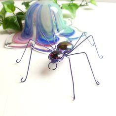 Handmade Medium Purple Spider Perfect for by SpiderwoodHollow, $12.00
