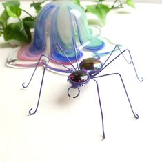 Medium Purple Spider Handmade Perfect Gift for by SpiderwoodHollow