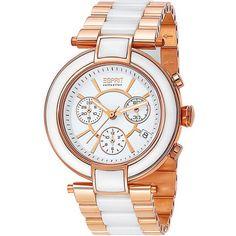 3dd5b8b84fb Esprit EL101582F05 Physis Rose Gold Ladies Watch Chronograph Chronograph
