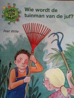 boek: wie wordt de tuinman van de juf?