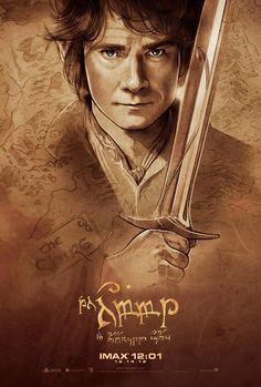 The Hobbit Movie Poster | #thehobbit  #movieposter                                                                                                                                                                                 Mais