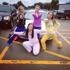 The Cheetah Girls: The Costume: Colorful sweatsuits and headbands are key to nailing this costume!