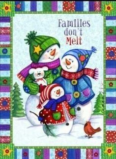 SnowPeople~Family...