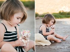 Such a cute idea and a beautiful girl. Maybe I could get all 3 kids to cooperate and do a similar shoot someday.... By: Ashley Madsen Photography