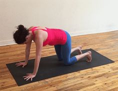 Downward-Facing Dog | 10 Moves That Will Strengthen Your Upper Body And Core - BuzzFeed News