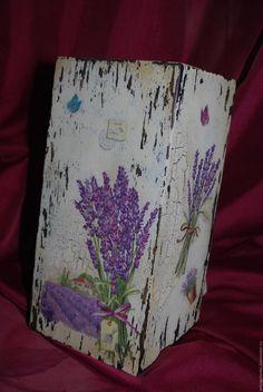 Старинная подставка для ножей Decoupage Box, Decoupage Vintage, Color Inspiration, Wood Crafts, Give It To Me, Shabby Chic, Tips, Handmade, Wooden Candle Holders