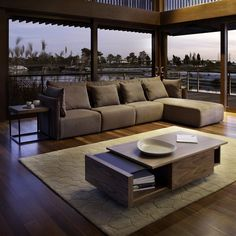 A coffee table that expands with your needs the Axis Coffee Table by TemaHome