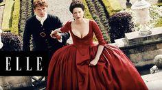 Secrets of Outlander with Sam Heughan and Caitriona Balfe | ELLE