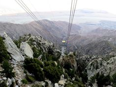 One of the things I love about Palm Springs is that you can go from the desert to 8,516 ft (2,596 m) elevation in the mountains within a 10-minute tramway ride up to Mount San Jacinto State Park - SoloTripsAndTips.com