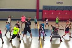 "This Gym Teacher Taught His Class a Cardio Version of ""Nae Nae"" and It's Everything"