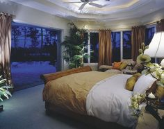 bedroom with a terrace <3