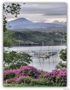 The Sound of Raasay from Portree, Isle of  Skye