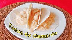 Rica receta para hacer tacos de camarón. https://youtu.be/re8nhPmpPks