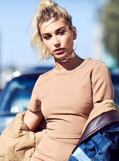 Hailey Baldwin.