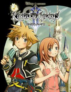 Kingdom Hearts Fanart by ~PepperComics on deviantART