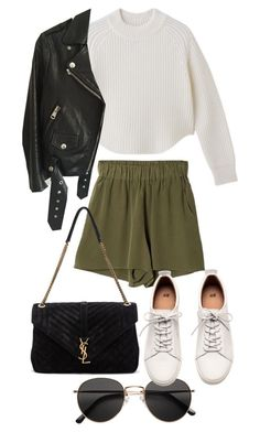 """""""Untitled #21612"""" by florencia95 ❤ liked on Polyvore featuring Acne Studios, Yves Saint Laurent and H&M"""