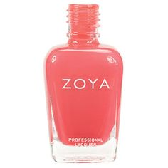 Zoya Nail Polish Elodie ($13) ❤ liked on Polyvore featuring beauty products, nail care, nail polish and pink