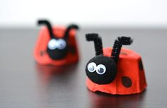 Letter L Crafts for preschool or kindergarten - Fun, easy and educational! Students will have fun learning and making these fun crafts! Kindergarten Fun, Preschool, Letter L Crafts, Craft Projects, Projects To Try, Craft Ideas, Red Tricycle, Imagination Tree, Egg Carton Crafts