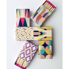 Decorative Matches (Set of 6) | Lulu and Georgia