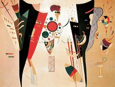 wassily kandinsky accord reciproque | Affiches et posters » Sujets » Abstrait » Reciprocal Agreement