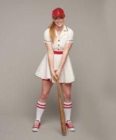 Retro Baseball Player Costume for Women | Chasing Fireflies