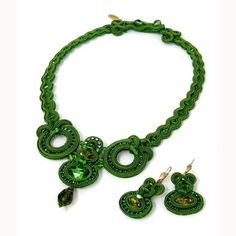 Just found this Dori Csengeri necklace in Paris - such a beautiful green!