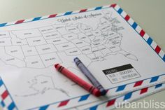 Election Night Coloring Map Free Printable from Urban Bliss! Great way to get kids involved in the election process. Election Map, Election Night, Maps For Kids, 18th Birthday Party, Election Process, Political Process, Holidays And Events, Party Time, Free Printables