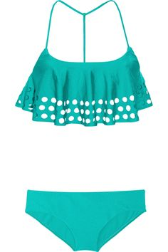 ZIMMERMANN  Clique perforated tankini  $390