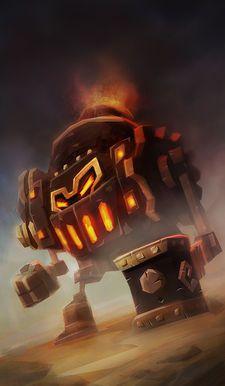 The Furnace - Dungeon Boss Wiki - Wikia Dungeon Boss, Master Chief, Creatures, Warriors, Fictional Characters, Fandom, Art, Art Background, Kunst