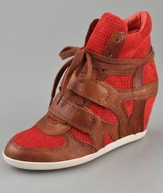 sleehak sneakers: ASH