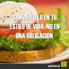 Conviértelo en tu estilo de vida. #biotrendies #lifestyle #motivacion #frases #fitness #motivation #quotes #guiafitness #