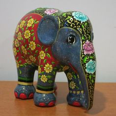 ...nyonya inspired elephant painted for a friend