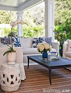 Are you happy Spring is almost here? Are you looking forward to outdoor entertaining? We're sharing Design Ideas for Gracious Outdoor Living Spaces