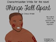 23 characterization webs for the novel Things Fall Apart by Chinua Achebe