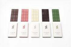 "Japanese design company Nendo is behind ""chocolatetexturebar,"" a line of chocolate bars that put the emphasis on texture. The ""chocolatetexturebar"" has 12 snap-off sections—with everything from dots to zigzags—that are designed to add a different flavor component."