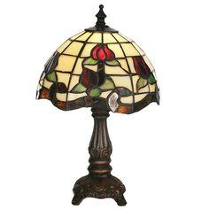 11.5 Inch H Roseborder Mini Lamp