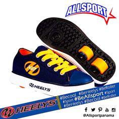 Pregunta ya por la variedad que tenemos en zapatillas HEELYS te sorprenderás al ver lo #cool que puede ser moverte en la ciudad!! #BeAllsport #Allsport #BeCool #Urban #OnWheels #rolleapanama #igerspanama #igerspty #panama #pty #navy