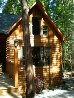 Cabin In The Woods By Gastineau Log Homes Http://www.oakloghome.