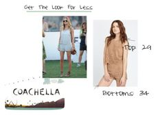 """Get the """"Look For Less"""" as rocked by Kate Bosworth in this 2 piece suede set at Coachella."""