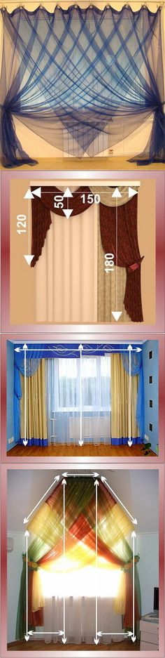 Bedroom Curtains: Decorate It With Embellishing Colours and Splendid Fabric - Curtain Decorating Ideas -
