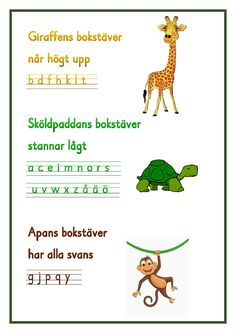 Teaching Letters, Teaching Writing, Teacher Education, School Teacher, Alphabet Activities, Classroom Activities, Too Cool For School, Back To School, Learn Swedish