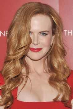 14 Seriously Cute Hairstyles for Curly Hair: Beauty: glamour.com haven't seen Nicole Kidman's God-given curls much since Days of Thunder -BRING EM' BACK NICKIE!!