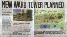 さとうあつこのハワイ不動産: ワードビレッジの新しいタワーの計画